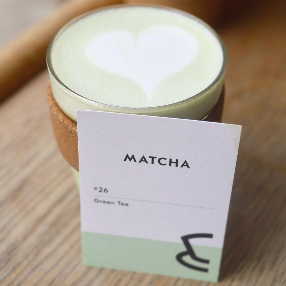 Coconut Matcha Latte