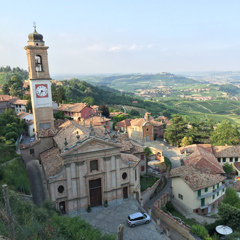 Piedmont wine country, Castello di Guarene, Morso Travel food and wine tours.