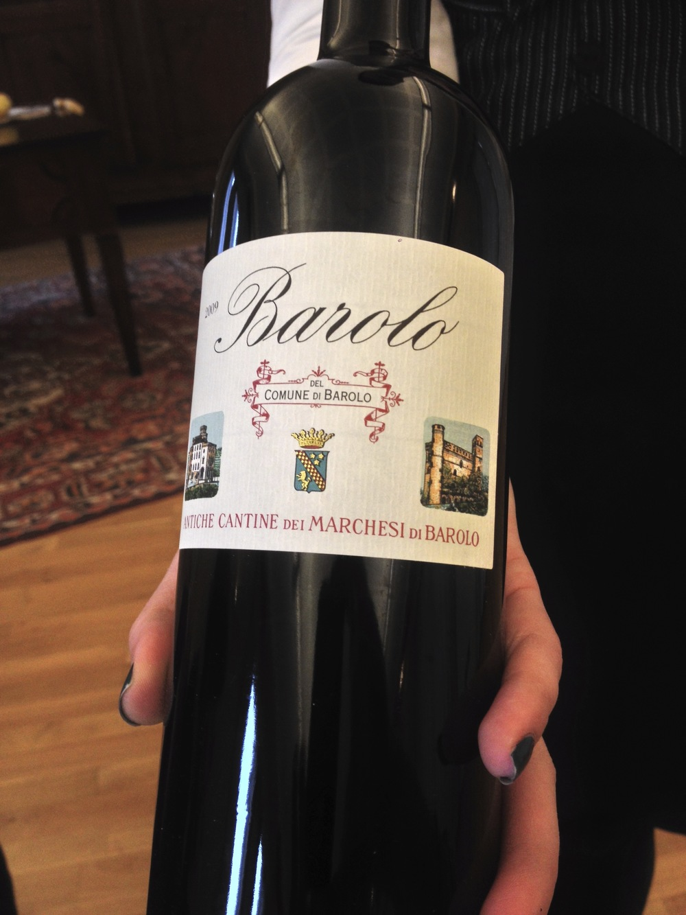 Barolo bottle