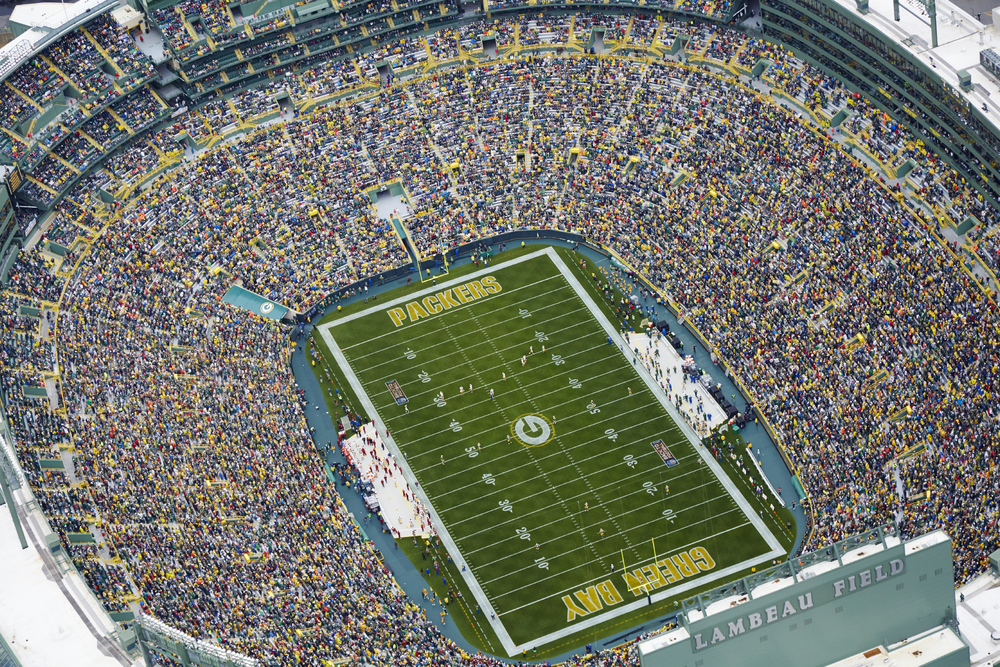 Growing up in Wisconsin, I was lucky enough to attend several games in this amazing venue.  I still remember the first game I ever went to in 1998 when the Packers hosted the Tennessee Oilers in a blizzard.  It was very hard for me not to put this at the number one spot.