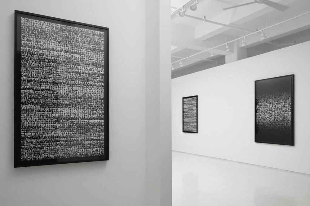 DATA MINE installation at Rick Wester Fine Art