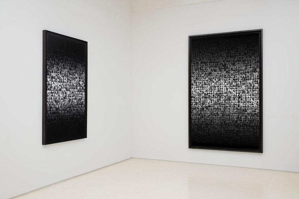 DATA MINE Installation at Rick Wester Fine Art  Data Mine, 2 Seconds  #Flex, 1 Second