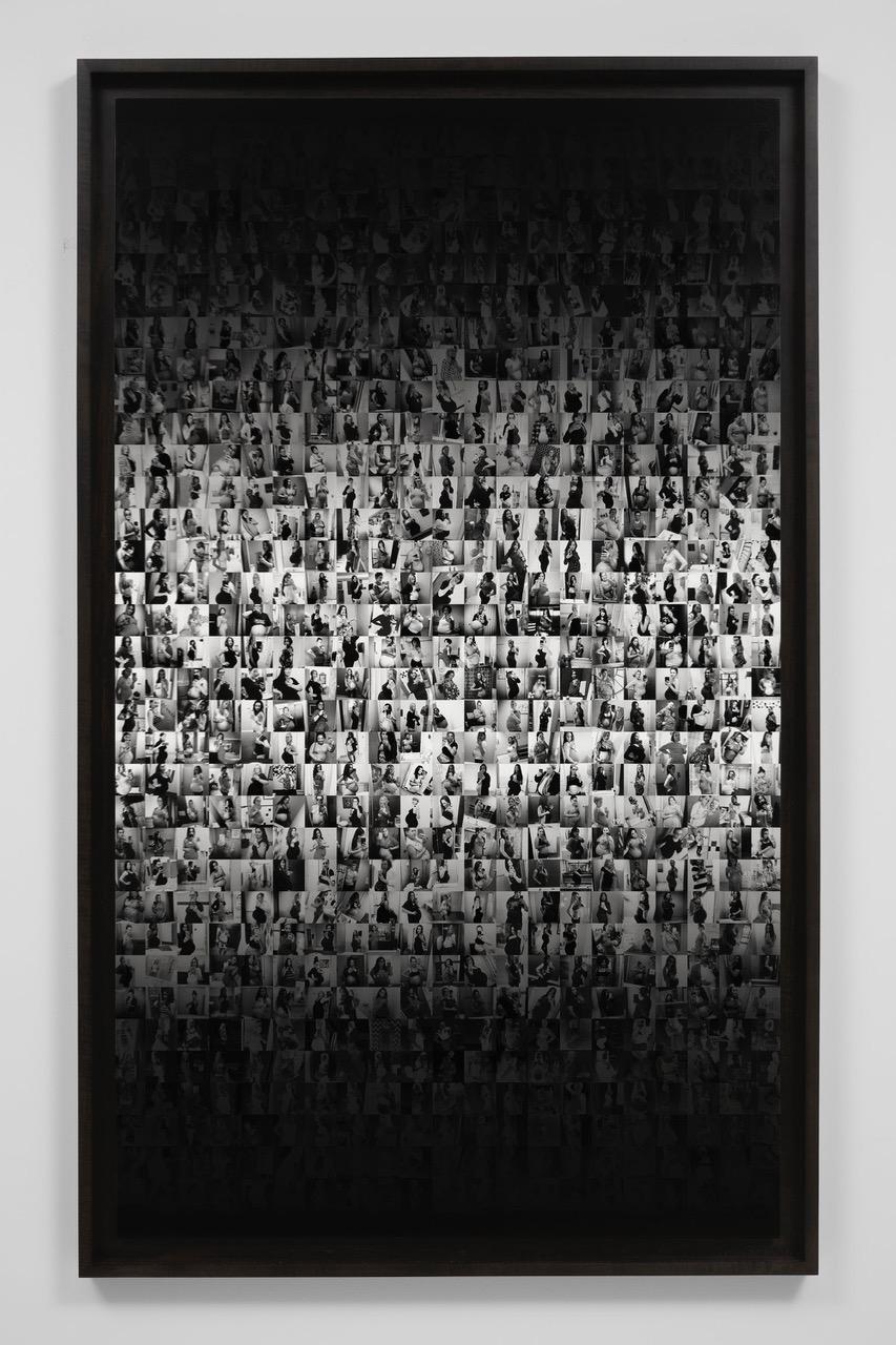 #preggo, 1 Sec , 2018,  Cassandra Zampini, installation view