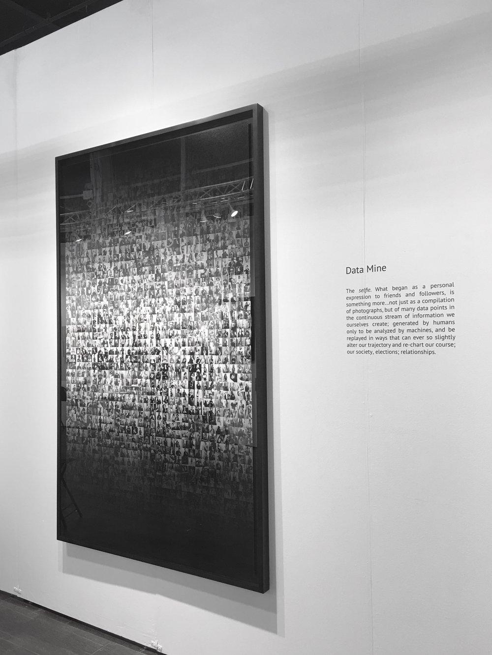 Data Mine, 2 Sec, 2018 (Installation)