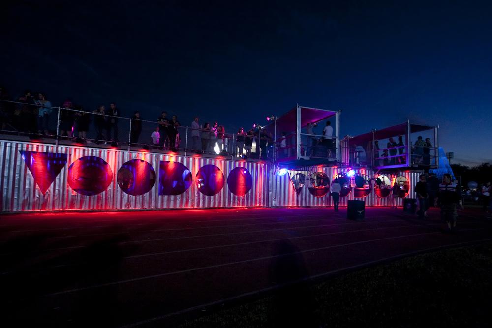 7. VooDoo Festival Grandstand