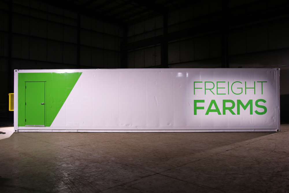 5. Freight Farms: The Leafy Green Machine