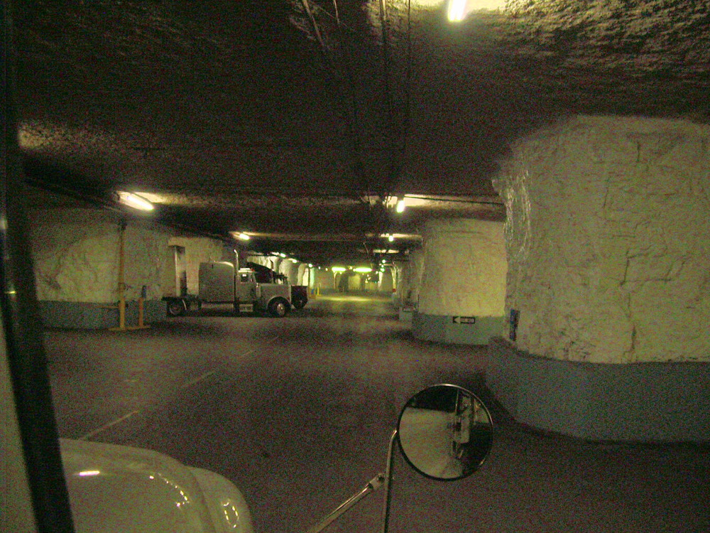 Inside the tunnels of Subtropolis. Public Domain Image.