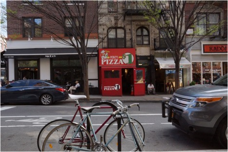 Percy's Pizza on Bleeker Street, where flour is the secret ingredient.