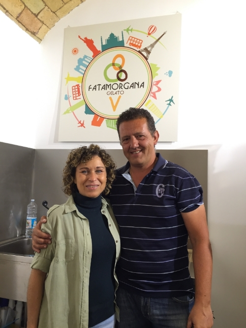The Fatamorgana founders, Maria Agnese Spagnulo and Francesco Simon, in their offices and teaching studio near Rome's Villa Borghese.