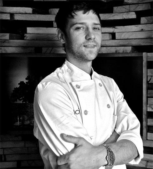Uchi's chef de cuisine Kaz Edwards.Image: Uchi