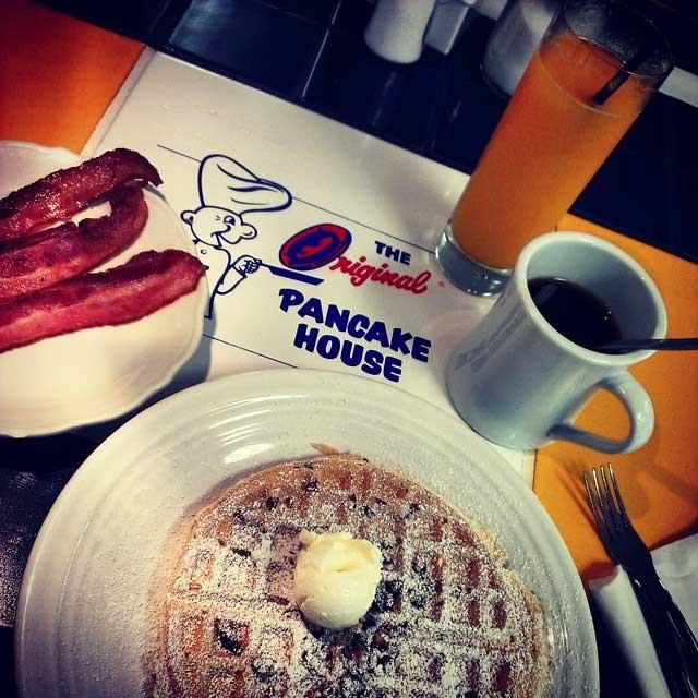 Breakfast old-school style
