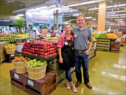 Trish and Bo Sharon, the chef couple who founded Lucky's Market.