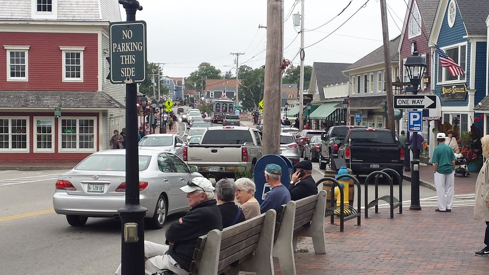 Kennebunkport on a busy day