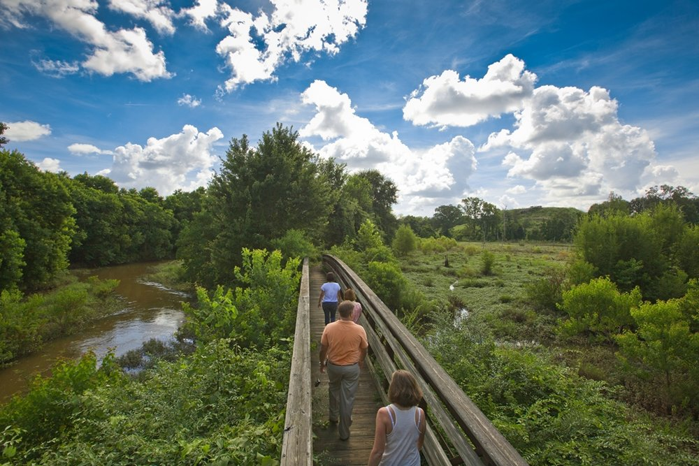 Ocmulgee National Monument Nature Trail  Photo Courtesy of Visit Macon