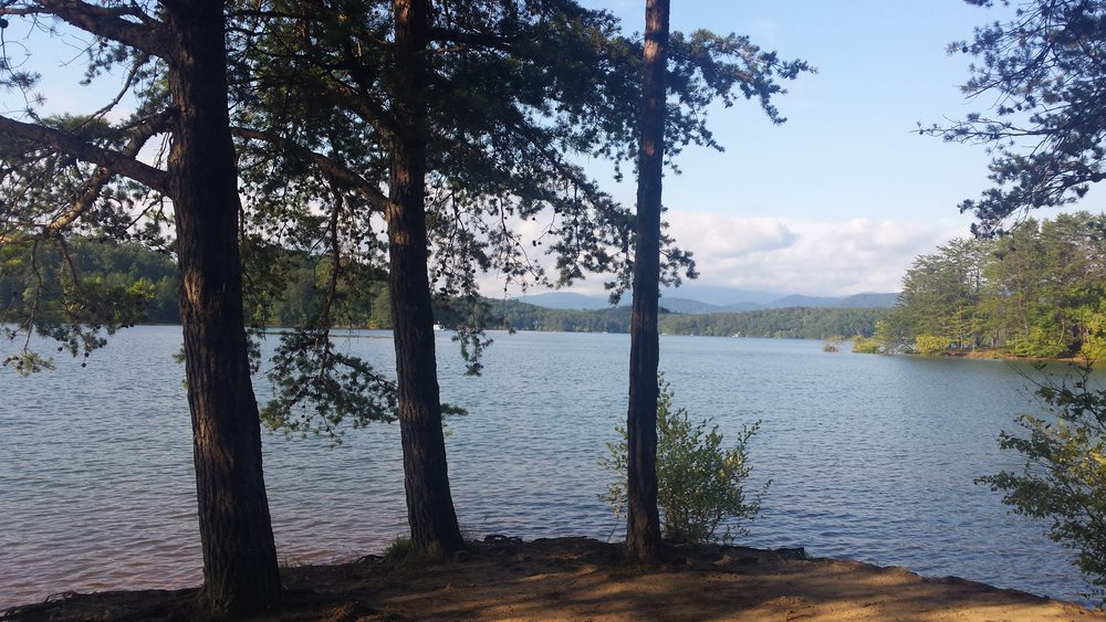 Lake Blue Ridge from Morganton Point Campground, Georgia