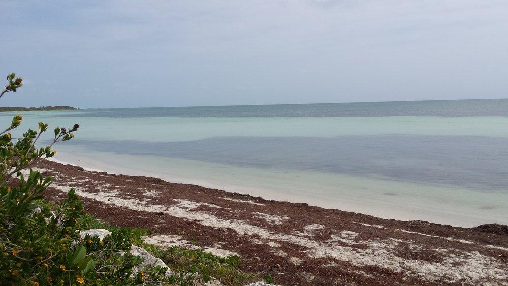 Kayak launch point at Bahia Honda