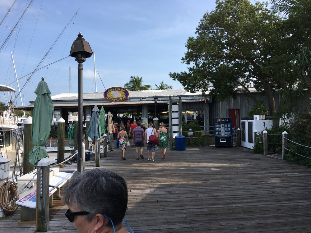 Harbor shops in Key West