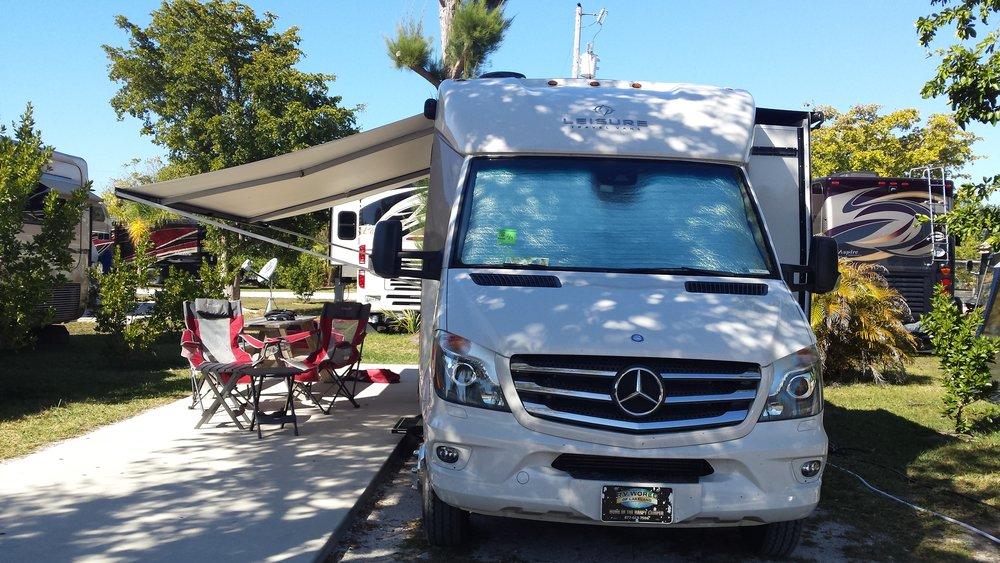 Campsite at Periwinkle Park