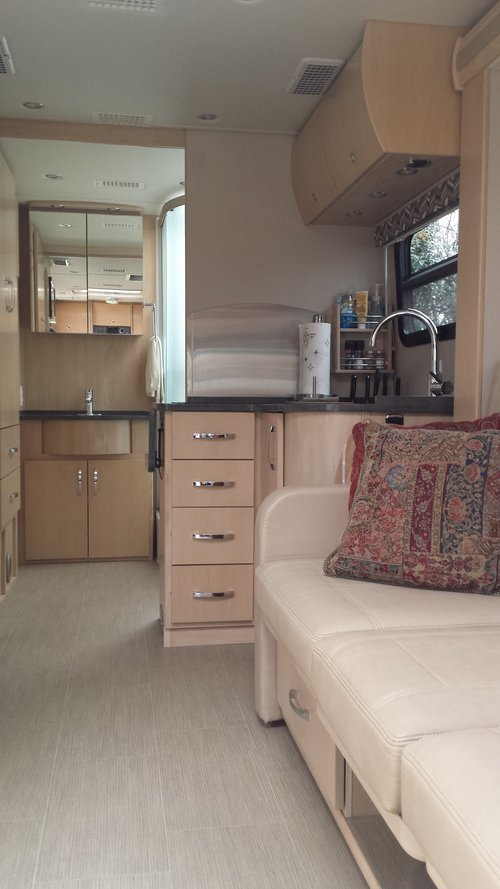 A Look From Front To Back Of Our Small RV