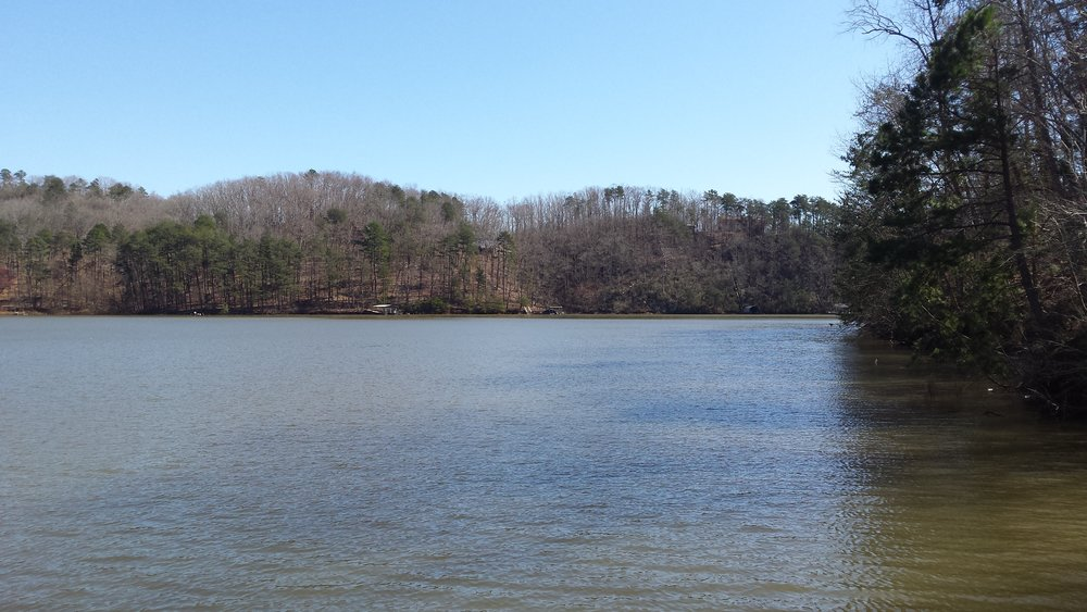 Don Carter State Park on Lake Lanier in north Georgia. Great kayaking trails as well as easy hiking and activities for the whole family.