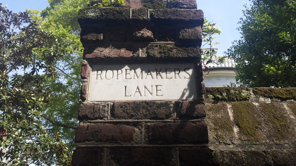 A walking tour of downtown Charleston takes you to some very interesting places.
