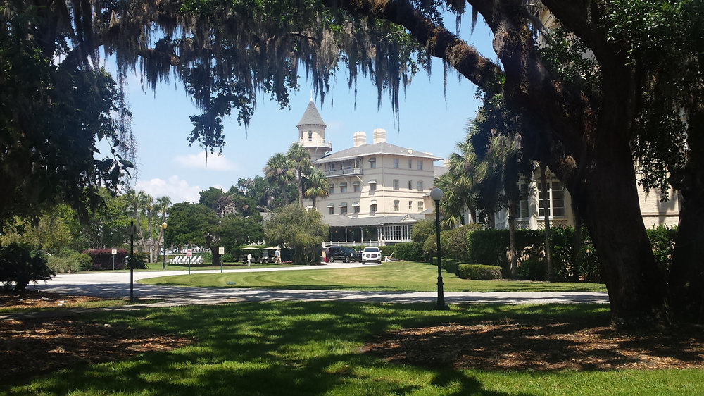 The Jekyll Island Club today is a lovely hotel