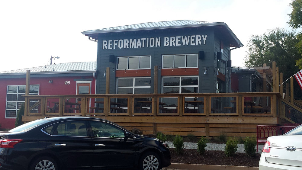 Downtown location of Reformation Brewery