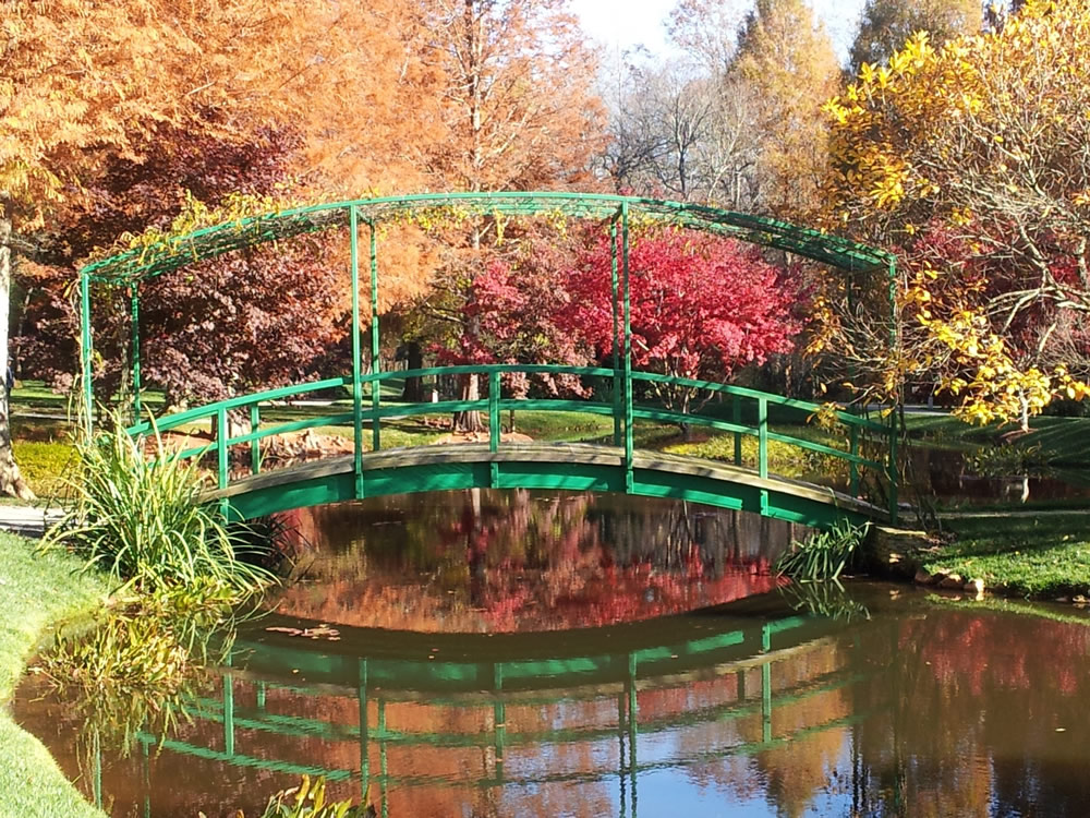 Monet bridge at Gibbs Gardens