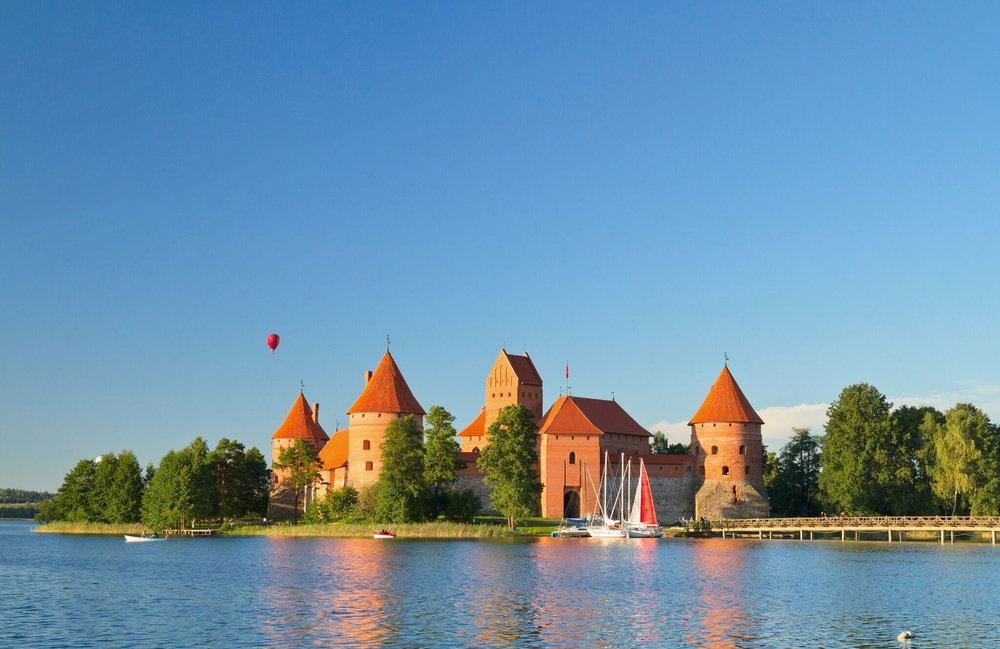 Baltikum-Wasserschloss Trakai - Litauen - Aleksas Kvedoras - Fotolia.com.jpg
