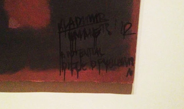 http://www.theguardian.com/artanddesign/gallery/2012/oct/08/defaced-artworks-rothko-leonardo-in-pictures#img-1