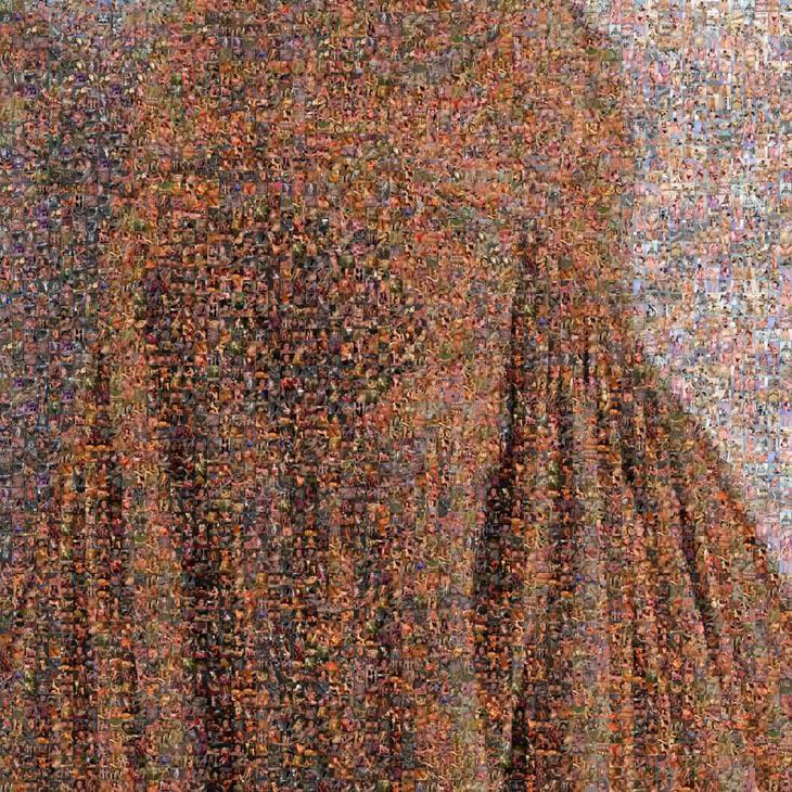 Rashid Rana, Veil I/2/3, 2004. C-Print + DIASEC, 51x51cm