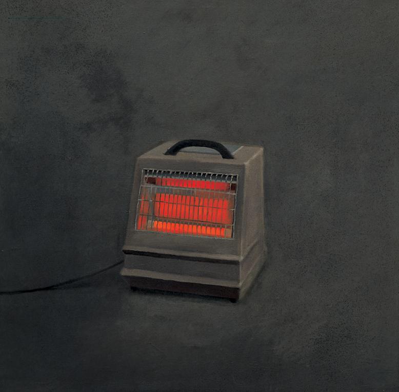 Vija Celmins,  Heater,  1964. Oil on canvas, 121x122cm, Matthew Marks Gallery.