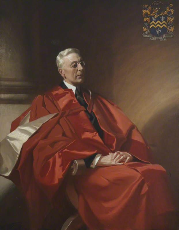 Frank Salisbury,  Edward Stephen Harkness , 1933. Oil on canvas, University of St Andrews.
