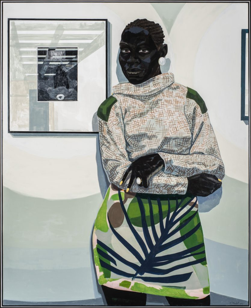 Kerry James Marshall, Untitled (Gallery), The Henry L. Hillman Fund   http://www.artnews.com/2016/12/14/carnegie-museum-in-pittsburgh-acquires-a-kerry-james-marshall/