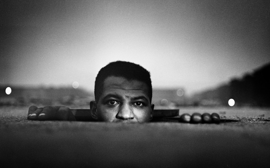 Gordon Parks,  Emerging Man, Harlem NY,  1952  http://www.gordonparksfoundation.org/archive/invisible-man-1952?view=slider#7