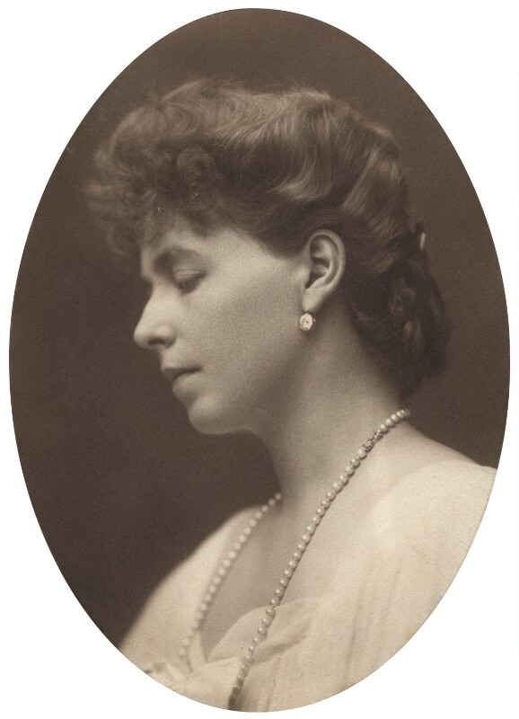 Marie, Queen of Romania, by George Charles Beresford, 1905, courtesy of the National Portrait Gallery