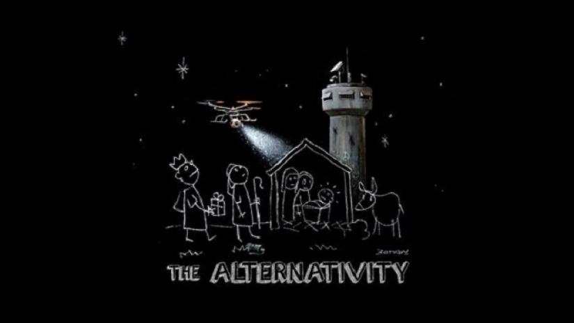 Danny Boyle and Banksy,  The Alternativity , 2017, BBC 2 17/12/17, Courtesy of www.denofgeek.com