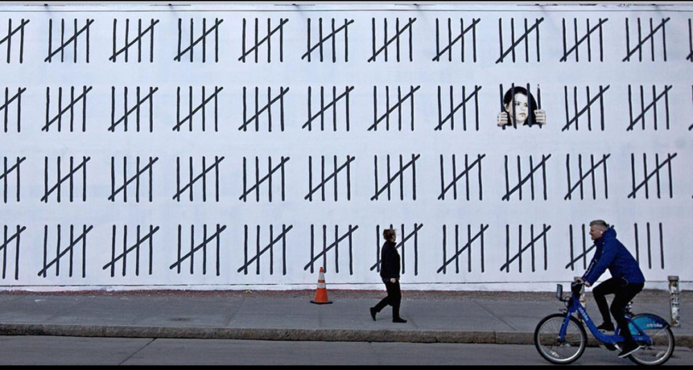 Banksy,  Free Zehra Doğan , 2018. ( https://news.artnet.com/app/news-upload/2018/03/Screen-Shot-2018-03-15-at-7.33.20-PM-1024x548.png )