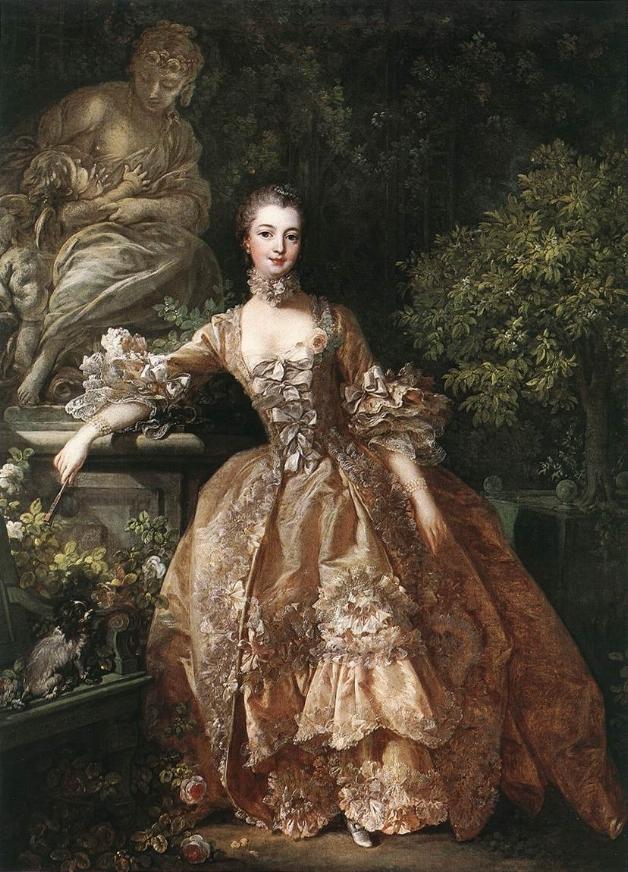 Francois Boucher,  Madame Pompadour , 1759, oil  on canvas, The Wallace Collection.  https://fr.wikipedia.org/wiki/Fichier:François_Boucher_-_Portrait_of_Marquise_de_Pompadour_-_WGA02909.jpg