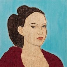 Stephan Balkenhol, Lady with Red Dress, 2017. Painted wawa wood, 60 x 60cm. Stephan Friedman Gallery, London. https://www.stephenfriedman.com/artists/stephan-balkenhol/artwork