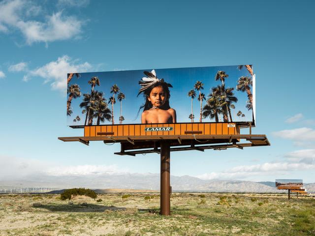 Cara Romero,  Jackrabbit, Cottontail & Spirits,  2019, Coachella Valley, California