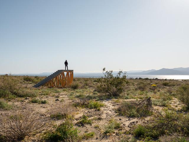 Ivan Argote,  A Point of View,  2019, Coachella Valley, California