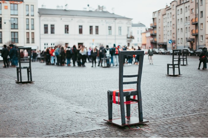 Ghetto Heroes Square , Krakow, Poland.  https://www.livinginanotherlanguage.com/krakow-poland/