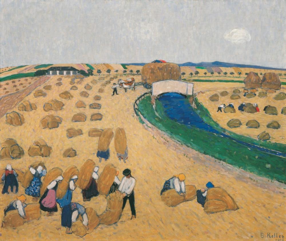 Harvest  (1908)   https://www.belvedere.at/city_of_women
