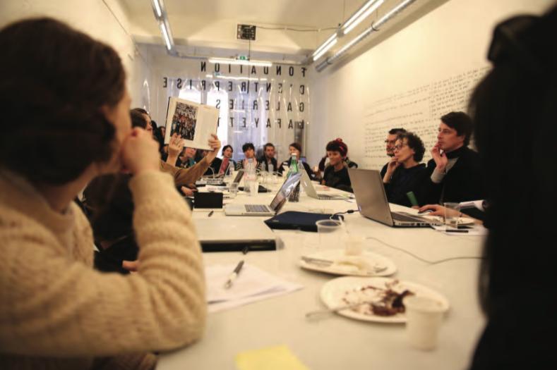 Art + Feminism's 2018 Wikipedia Edit-a-Thon , courtesy of Creative Commons, 2018. ( http://www.artnews.com/2019/02/21/art-feminism-host-sixth-annual-wikipedia-edit-thon-march/ )