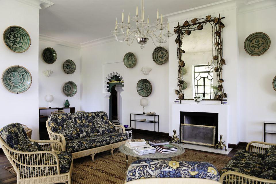 Anne-Gaël Rio,  The interior of Villa Mabrouka, Tangier.