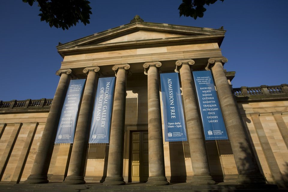 Edinburgh National Gallery , Photograph.  https://www.tripsavvy.com/scotlands-national-galleries-in-edinburgh-1661289