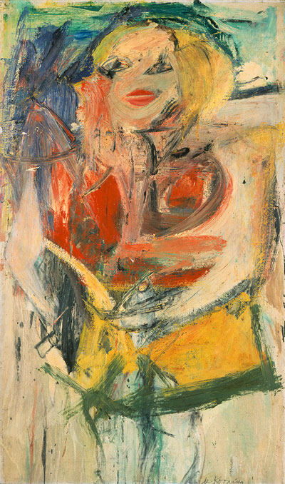 Willem de Kooning,  Marilyn Monroe,  1954, oil on canvas, Neuberger Museum of Art  https://www.neuberger.org/exhibitions.php?view=55