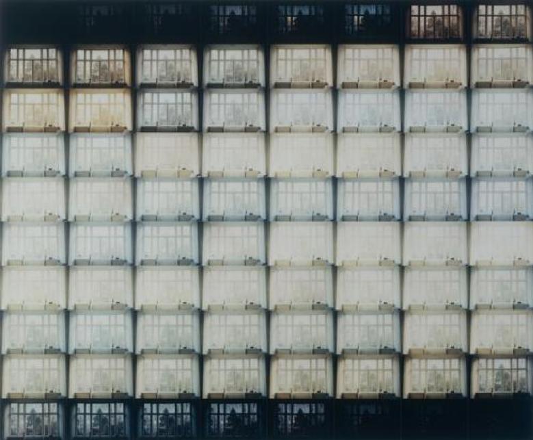 Jan Dibbets, The Shortest Day at My House in Amsterdam, 1970, Musée d'Art Moderne de la Ville de Paris, France.  http://parismuseescollections.paris.fr/fr/musee-d-art-moderne/oeuvres/shortest-day-at-my-house-in-amsterdam#infos-principales