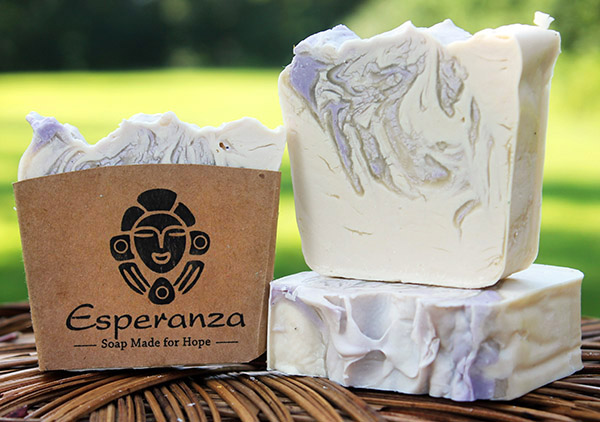 Lavender soap - Made with Aloe gel and lavender essential oil for a smooth, relaxing soap.  Made in the US.